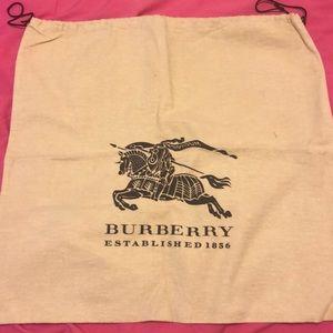 Burberry purse cover